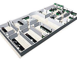 实验室效果图2